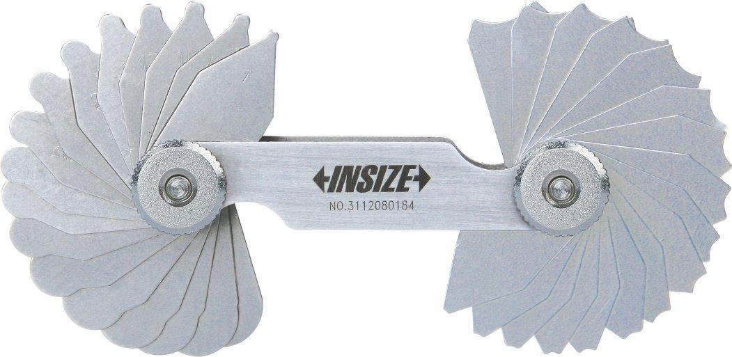 Insize 4801– 15 Radius Gauge, 15,5 mm –  25 mm INSIZE CO. LTD 4801-15
