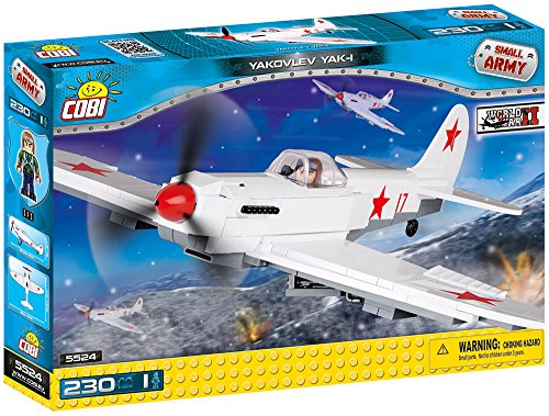 COBI Small Army Yakovlev Yak-1 Plane Building Kit ()