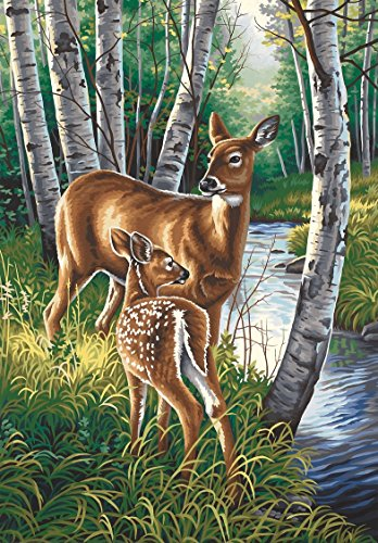 Dimensions Needlecrafts Paintworks Paint By Number, White Tailed Deer