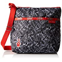 LeSportsac Small Cleo Crossbody Hobo Bag, One-Size