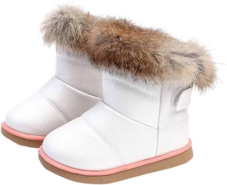 c16e53079 Deloito Baby Soft Leather Booties Snow Boots