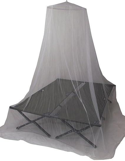Moskitonetz Mückennetz Baldachin 10m Umfang Fliegennetz in Weiß
