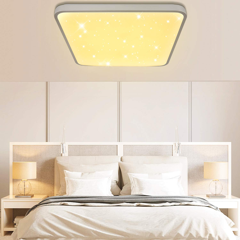 VINGO 24W Cambio di coloreLampada da soffitto Led cielo stellato Plafoniere led adatto per soggiorno camera da letto o altri luoghi