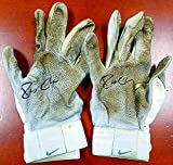 Robinson Cano Signed New York Yankees Pair of Game Used Nike Batting Gloves with Signed Certificate & - PSA/DNA Authentication - Baseball Collectible