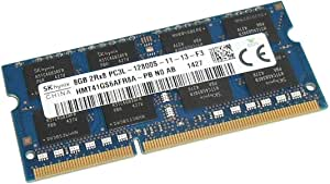 Hynix Laptop Ram 8GB DDR3 Memory 204pin PC3L-12800S 1600MHz HMT41GS6AFR8A-PB