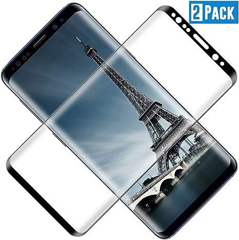 Pellicola Protettiva in Vetro Temperato per Samsung Galaxy S9 Pellicola Protettiva per Samsung Galaxy S9 3 Pezzi Pellicola Vetro Temperato Facile da Installare