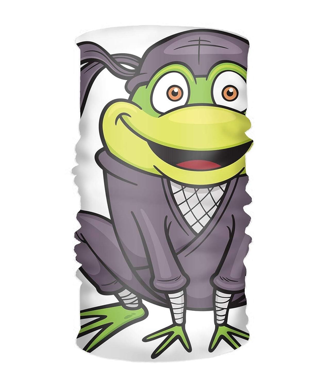 Amazoncom Ninja Frog Head Wrap Long Hair Scarf Turban Tie Beauty