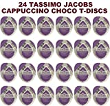 tassimo cappuccino pods - 24 x Tassimo Jacobs Cappuccino Choco T-Discs / Pods. SOLD LOOSE