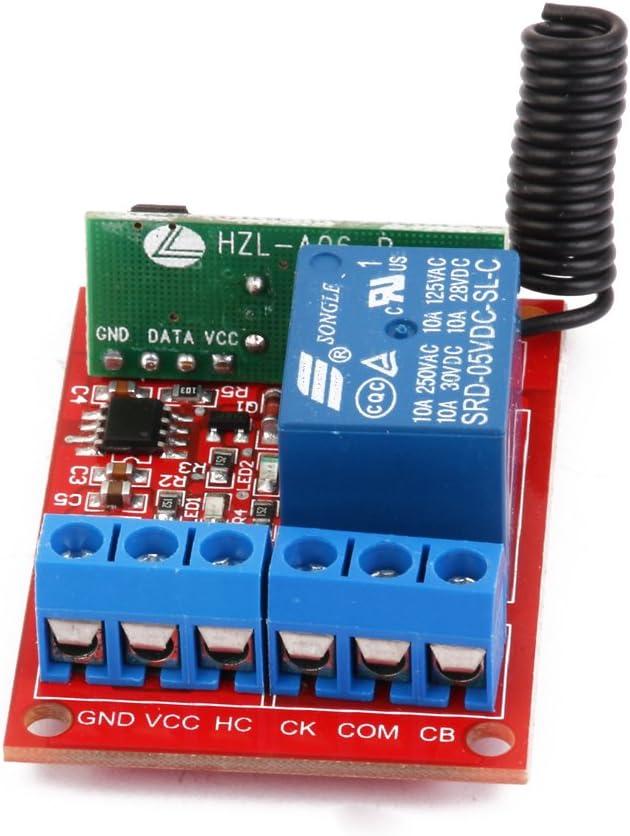 5V Eine Channal 1ch Rf Drahtlose Fernsteuerungsschalter Relaismodul 433MHz