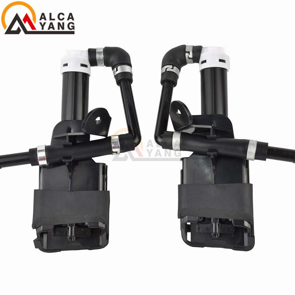 Mathenia Car Parts, GS1F-5182YA GS1F-5182XA GS1F-51-82YA Left Right Side Headlight Washer Wiper Nozzle Cylinder Pump for Mazda 6 2009-2011 - (Type: Left and Right) by Mathenia