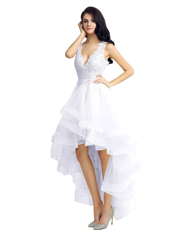 Sarahbridal DRESS レディース B01ISW4BS8 8|ホワイト ホワイト 8