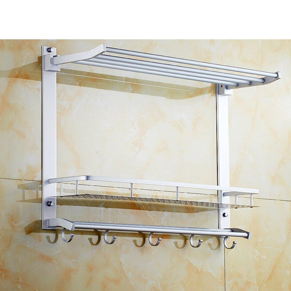 new space aluminium storage racks/Toilet wall hanging racks/Bathroom ...