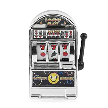 Docooler Mini Lucky Slot Machine Metal Anti-Stress Toy Christmas Gift Gold