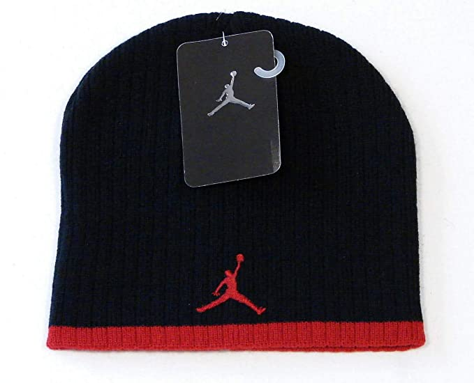 b46817b6468ba Amazon.com  Jordan Jumpman 23 Boys  Knit Beanie  Sports   Outdoors