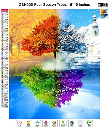 Tsing Diy Crystals Paint Kit 5d Diamond Painting By Number