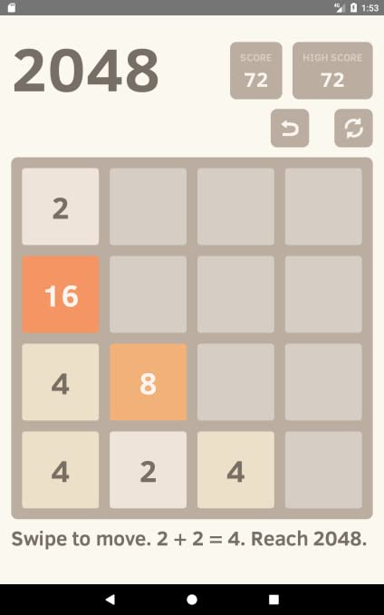 Amazon com: 2048 - Math Puzzle Game: Appstore for Android