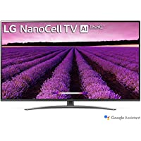 LG 139 cm (55 inches) 4K UHD Smart Nano-Cell TV 55SM8100PTA (Ceramic BK + Dark Steel Silver) (2019 Model)