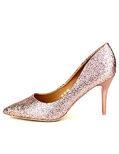 CendriyonEscarpins Rose Femme Taille CINKS Chaussures Paillettes N8O0wknZPX