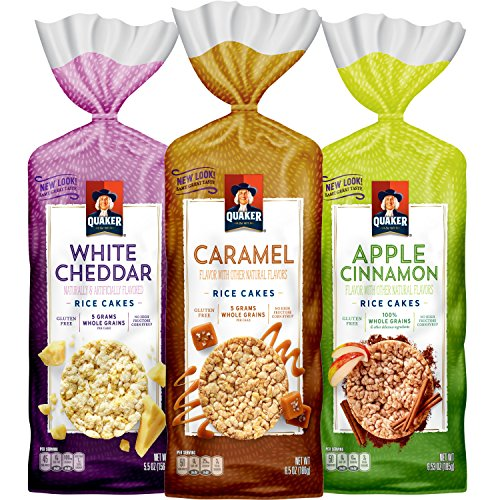 Quaker Gluten Free Rice Cakes Variety Pack 6-Count Only $7.65 **Only $1.27 Each**