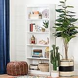South Shore Axess Collection 5-Shelf Bookcase, Pure White