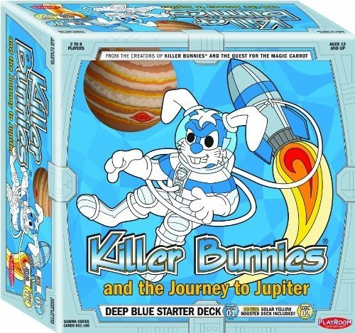 Killer Bunnies Jupiter Blue Starter Card Game by Playroom Entertainment