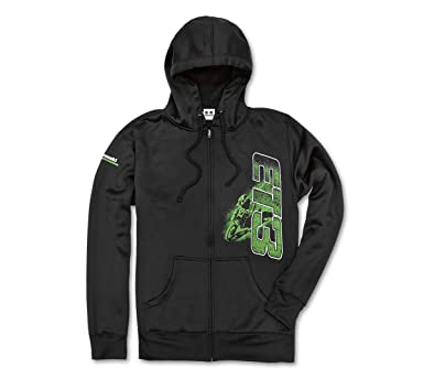 9a5956c86 Kawasaki Eli TOMAC ET3 Pullover Hoodie Sweatshirt Black at Amazon ...