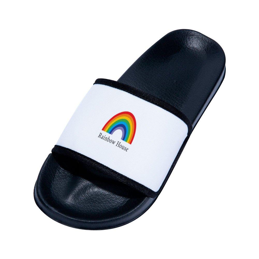 Chad Gold Sandals for Boys Girls Beach Sandals Anti-Slip Bath Slippers Shower Shoes Indoor Floor Slipper