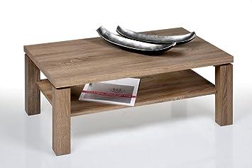 Proline Locarno Sonoma Eiche Truffel Design Couchtisch 110 X 70 Cm