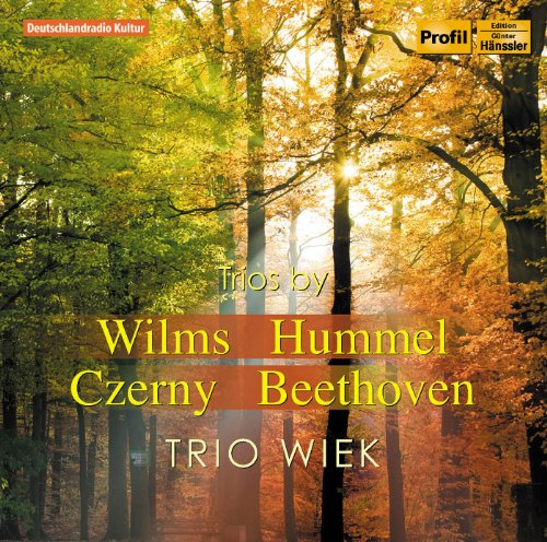 Wilms - Hummel - Czerny - Beethoven: Works for Flute, Cello and Piano
