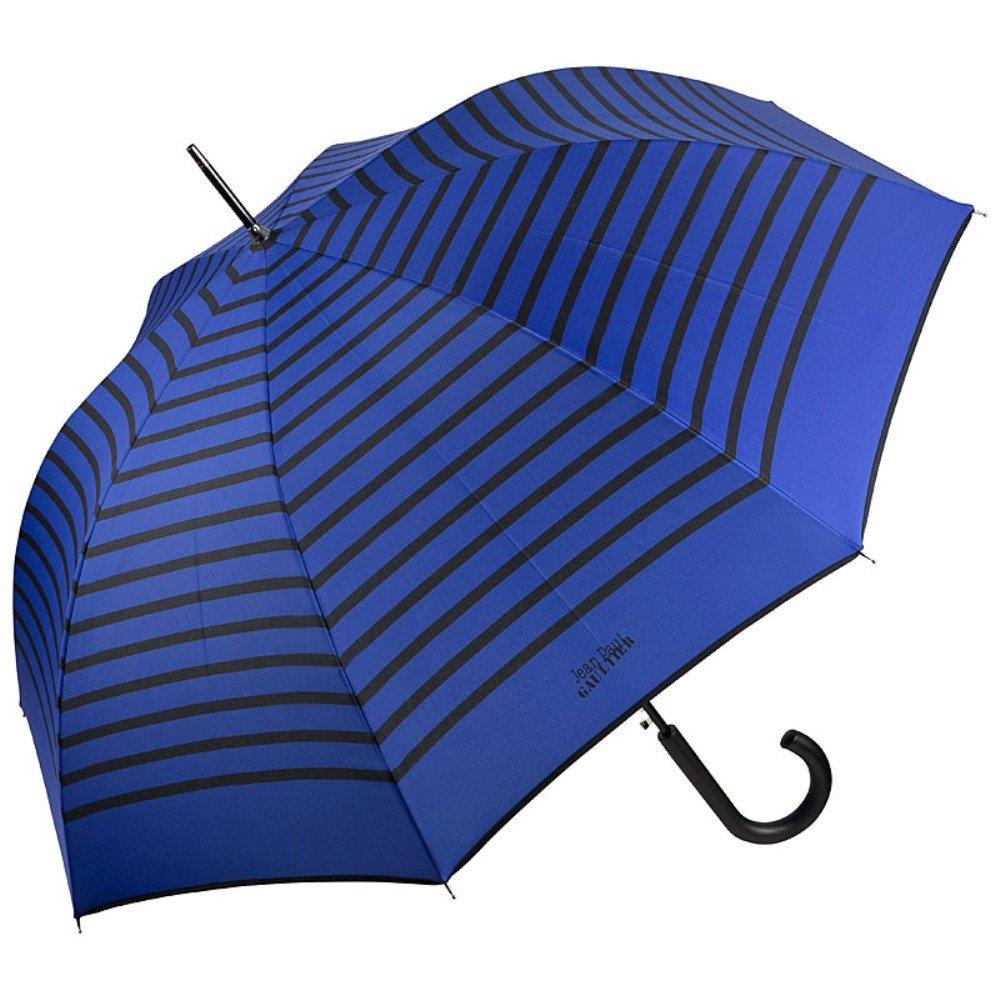 VON LILIENFELD Jean Paul Gaultier Regenschirm Automatik Damen Herren Marius blau schwarze Streifen