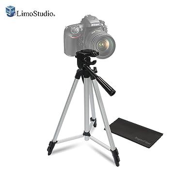 LimoStudio Foto/Vídeo ProPod 53 inch Tall trípode incluye funda de transporte de trípode deluxe