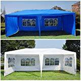 Generic O-8-O-4247-O w/ Side Gazebo Pavilion Pavilio Tent Patio tio Gaz Outdoor 10'x20' Canopy arty Te w/ Sidewalls COLOR:RANDOM nopy We Wedding Party NV_1008004247-TYQFUS32