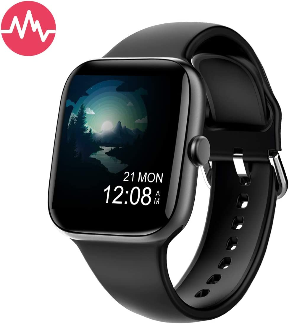 Smart Watch for Men Women,Fitness Tracker with 1.54 Full Touch Color Screen,IP67 Waterproof Pedometer Smartwatch with Pedometer Heart Rate Monitor Sleep Tracker for Android and iOS Phones