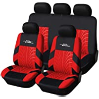 $29 » AUTOYOUTH Car Seat Covers Universal Fit Full Set Car Seat Protectors Tire Tracks Car Seat…