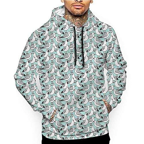Siberian Tiger Sweatshirt - Hoodies SweatshirtMen 3D Print Safari,Siberian Wild Tiger Eye,Sweatshirts for Teen Girls
