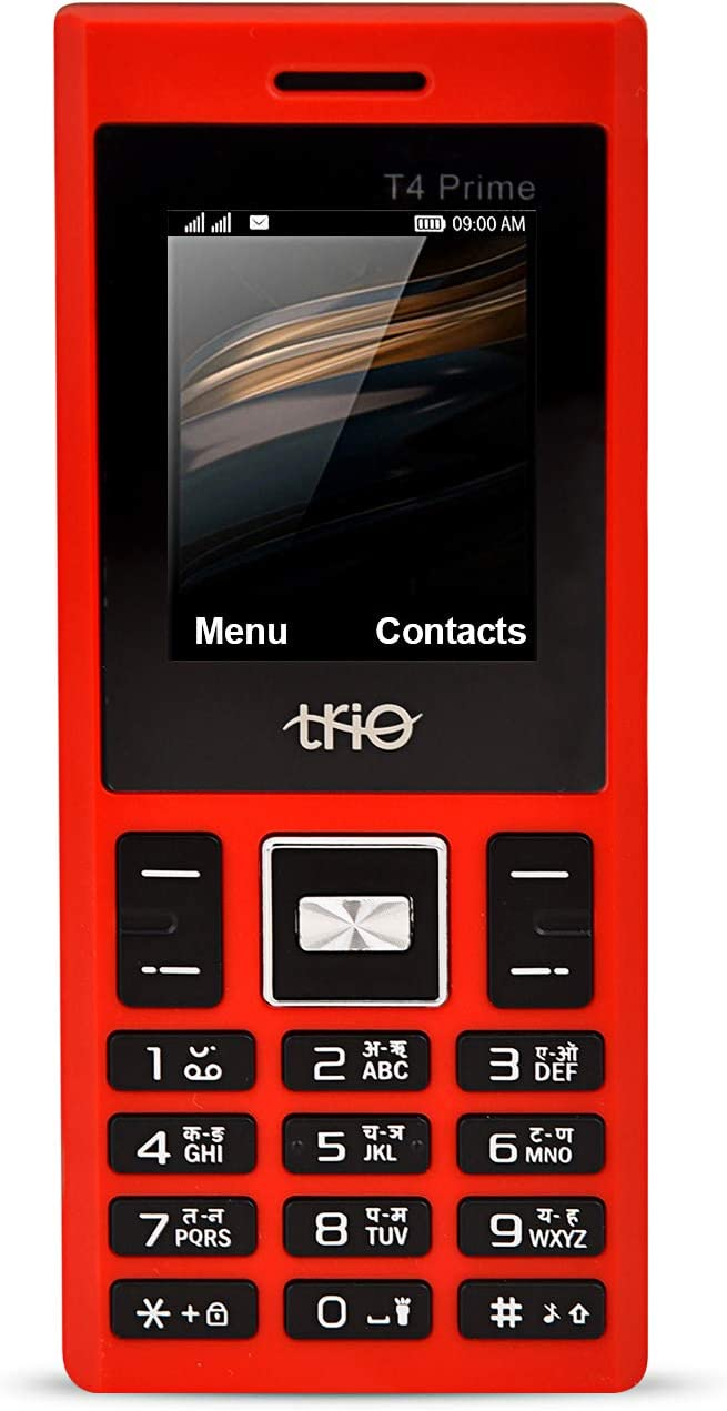 Trio T4 Prime  Red  Basic Mobiles