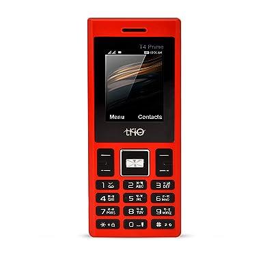Trio T4 Prime  Red  Basic Mobiles