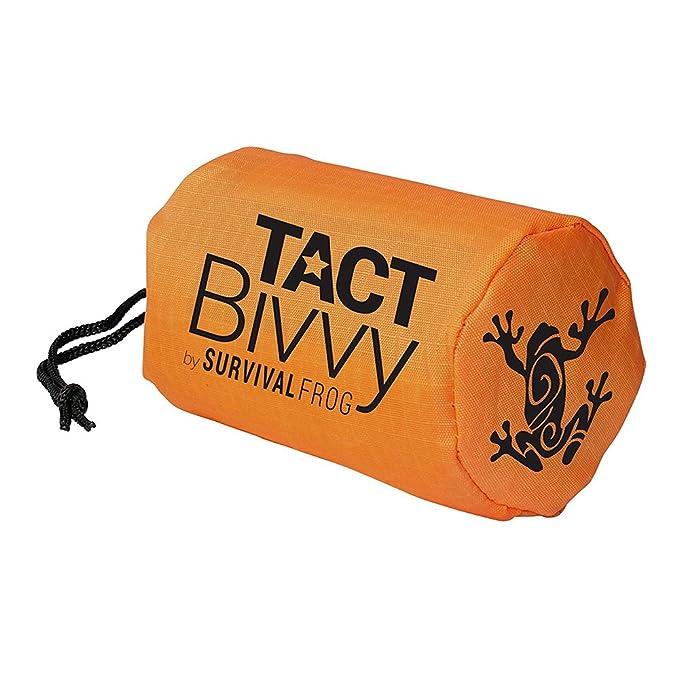 Thermal Escape Bivy Bivvy Sleeping Bag Mylar Survival Blanket Breathable Camping