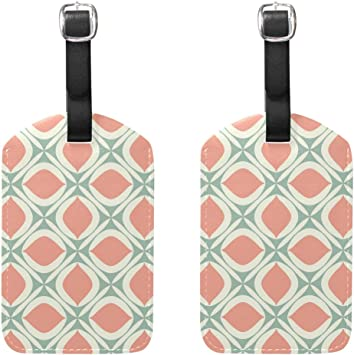 2 Pack Luggage Tags Dragon Pattern Baggage Tag For Suitcase Bag Accessories
