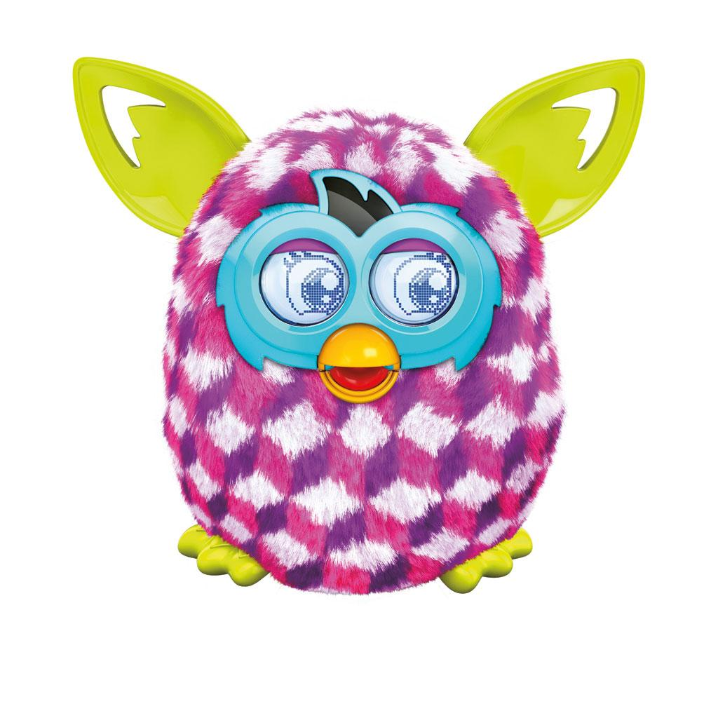 Amazon.com: Furby Pink Cubes Boom Plush Toy: Toys & Games