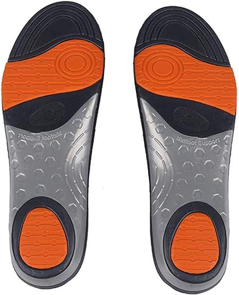 VCtyui Zapatillas Plantillas Inserciones Soporte de Arco Neutro Calzado Deportivo Plantilla Zapatillas de Running de Alto Rendimiento, Inserciones de Calzado para Correr para Hombres Mujeres(2 Pares): Amazon.es: Deportes y aire libre