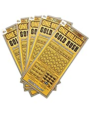 Golden Rainbow 5PK Pregnancy Announcement Replica Scratch Off Cards | Perfect Keepsake For Announcing Pregnancy