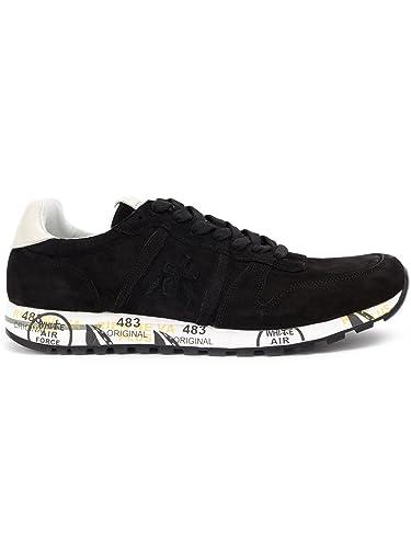 PREMIATA Herren Eric2374 Schwarz Leder Sneakers  Amazon.de  Schuhe ... efe27f4644