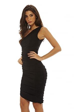 5085f48edf Amazon.com  AX Paris Women s Asymmetric Bodycon Dress  Clothing