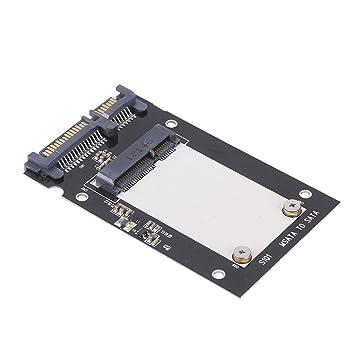 Vbestlife Adaptador de mSATA de Metal a SATA III HDD SSD 2.5 ...