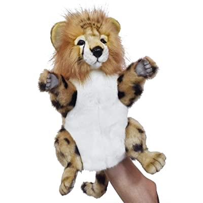 "Hansa Cheetah Hand Puppet Soft Plush Toy 12""/30cm excluding Tail : Baby"