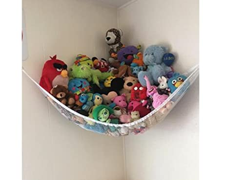 powkoo jumbo toy hammock stuffed toys storage hammock   organizer for stuffed animals teddies amazon    powkoo jumbo toy hammock stuffed toys storage hammock      rh   amazon