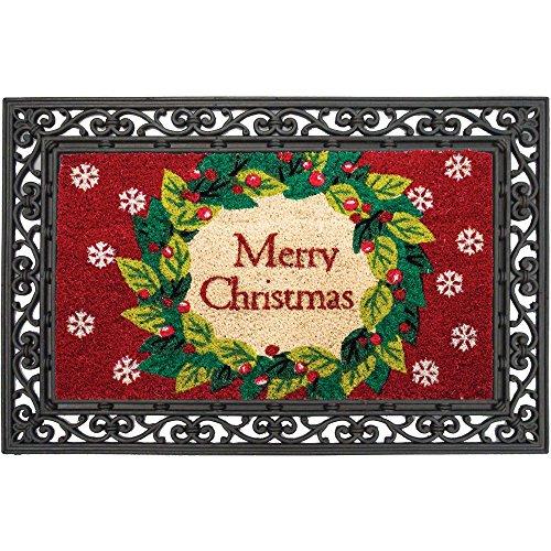 Wreath Coir Mat (Christmas Door Mat Coir)