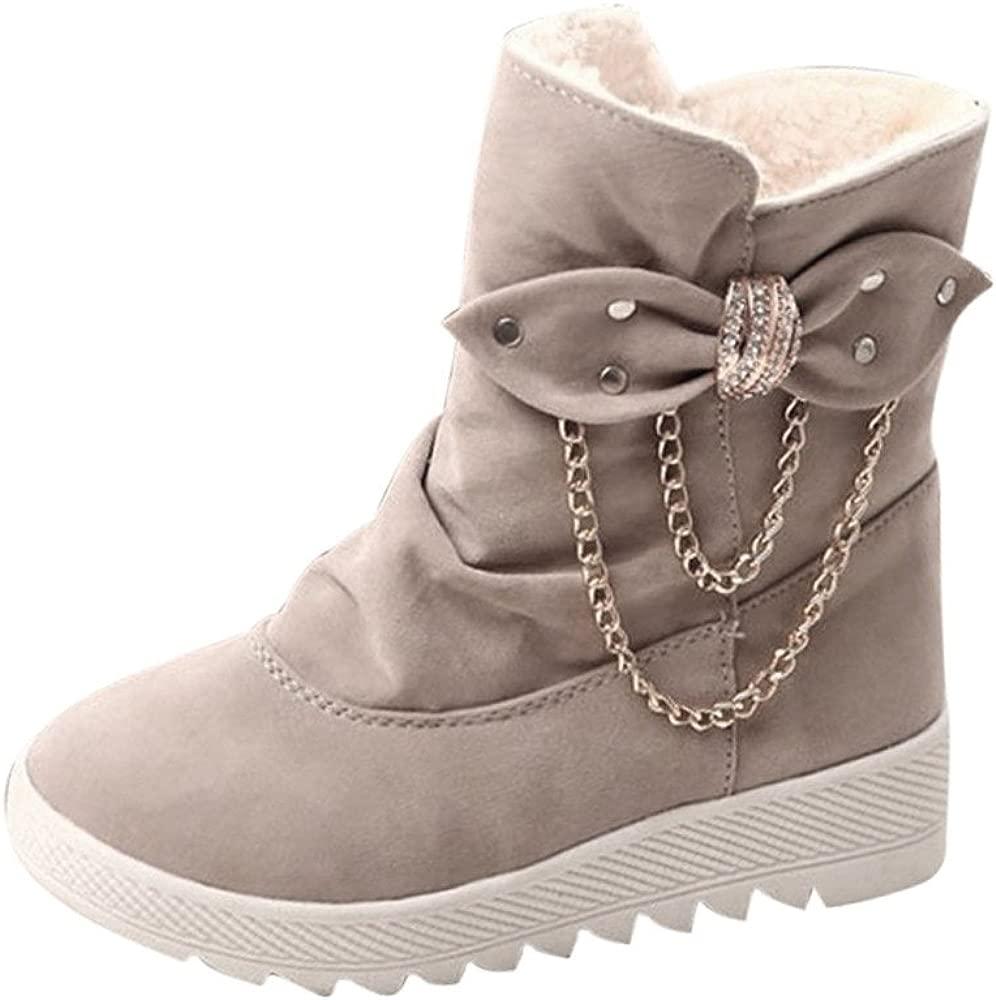 Manadlian femme Bottes Boots Bottines chaussures Femme WHDE29I