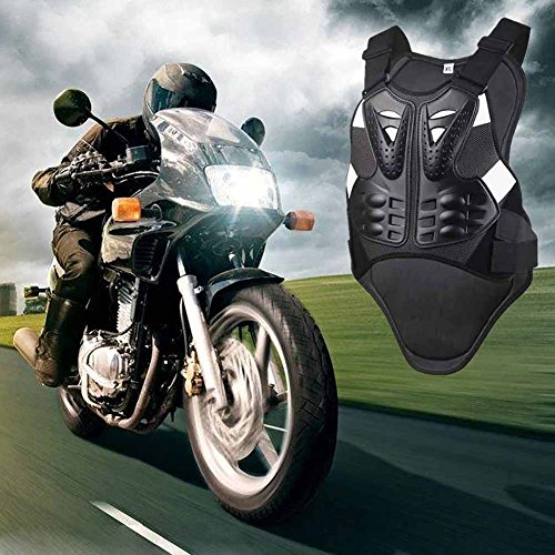 Wishwin Professional Motorcycle Armor Vest Jacket Protection Gear Riding Body Spine Chest Unisex Adult Youth